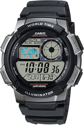 Picture of Casio AE-1000W-1BVDF Mens Sports Watch