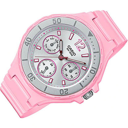 Picture of Casio LRW-250H-4A2 Standard Analog Ladies Pink Resin Strap Quartz