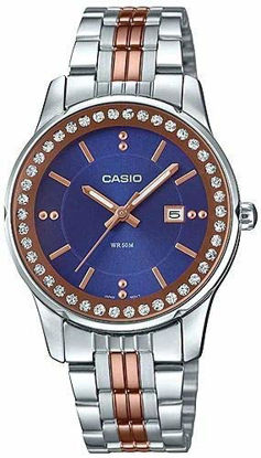 Picture of Casio Analog Blue Dial Women's Watch-LTP-1358RG-2AVDF (A1588)