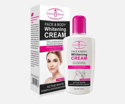 Picture of Aichun Beauty Body Lotion Collagen Milk Face Whitening Cream -