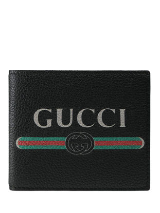 Picture of Gucci Men's Wallet Fashion Letter Print Colorblock Purse - One Size