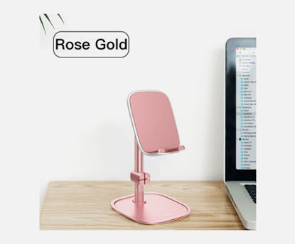 Picture of Baseus Mobile Phone Stand Holder Metal Desktop Phone Mount Holder