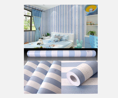 Picture of European Style Wallpaper Self-Adhesive Floral Printed Home Bedroom Living Room Wall Paper