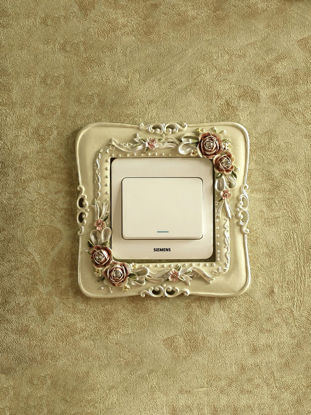 Picture of Floral Switch Cover Eco Friendly Pastoral Resin Wall Art
