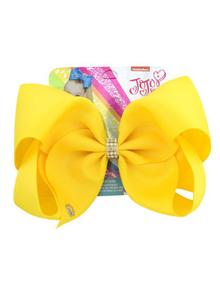 Picture of Girl's Hair Clip Pure Color Bowknot Trendy Lovely Hair Accessory -Size: One Size