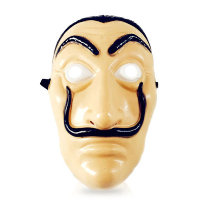Picture of Party Festival Salvador Dali Face Mask Costume Cosplay Accessories -Size: One Size