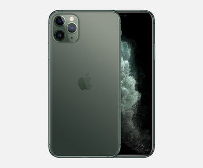 Picture of iphone 11 pro max 256 arabic - Green/ Black - 1SIM