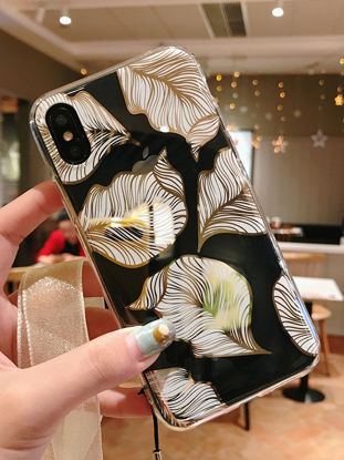 Picture of iPhone 7 Plus Phone Cover Vintage Flower Print TPU Case - iphone7 plus
