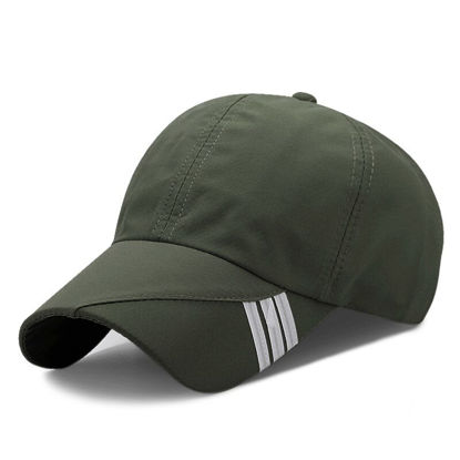 Picture of Men's Baseball Cap Sun-proof Breathable Outdoor Hat Accessory - One Size