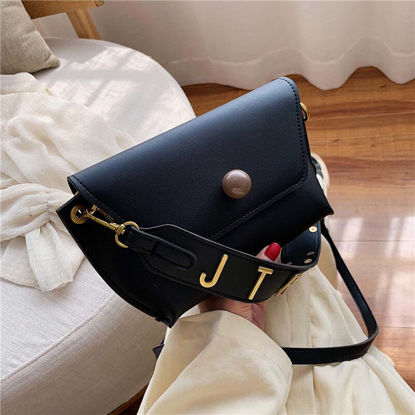 Picture of Women's Shoulder Bag Fashion All-Match Solid Color Simple Casual Bag - One Size