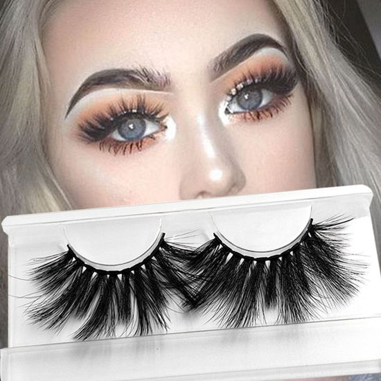 Picture of GXOBEAUTY 3D Natural Artificial Eyelashes Long Mink Imitation Lashes