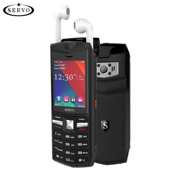 Picture of SERVO R26 32MB RAM 32MB ROM 2.4 Inch Bluetooth Headphone Mobile Phone - Size: Type:UK