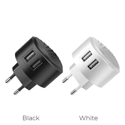 Picture of Wall Charger (without Cable) Hoco  C67A