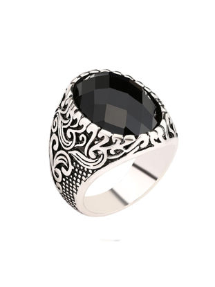 صورة Men's Ring Carving Exquisite Leisure Vintage Comfy Jewelry Accessory - 9