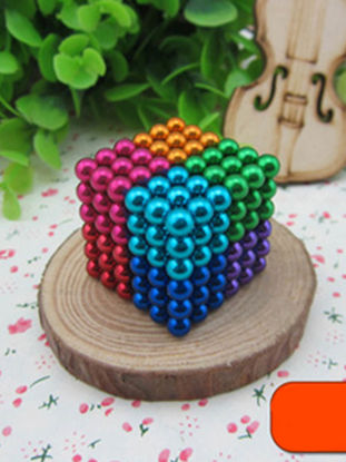 Picture of 216Pcs Colorful Magnetic Buckyballs Toy Creative Rubik's Cube Toy