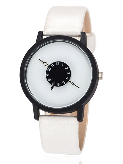 Picture of Men's Quartz Watch All Match Classic Fashion Creative Casual Watch Accessory - One Size