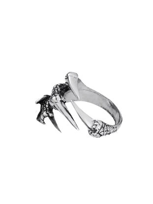 صورة Men's Ring Trendy Dragon Claw Design Ring - One Size