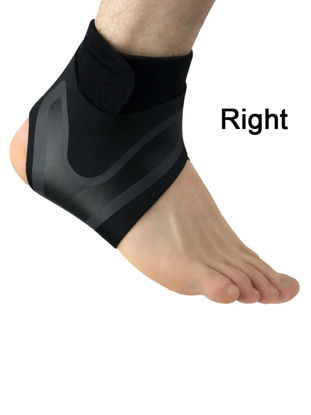 Picture of 1Pcs Sports Ankle Support Socks Breathable Compression Anti Sprain Heel Cover Socks - L