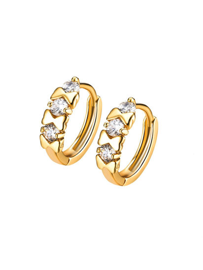 Picture of Women's Earrings Elegant Vogue Exquisite Earrings Accessory - One Size