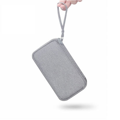 صورة Mobile Power Storage Bag Digital USB Data Cable HDD Organizer - One Size
