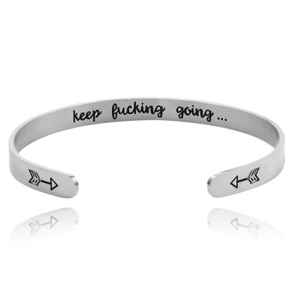 صورة Men's Bracelet Letter Pattern Fashion Accessory - Resizable