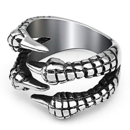 صورة Men's Ring Fashion Talons Shape Design Jewelry Accessory - 12