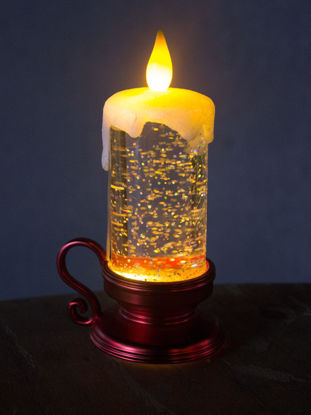 Picture of 1Pc Light Oil Lamp Candle Shape Night Light - One Size