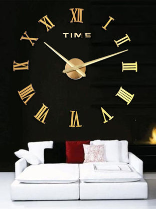 Picture of 1 Pc Wall Clock Creative Simple Design Home Decoration - One Size