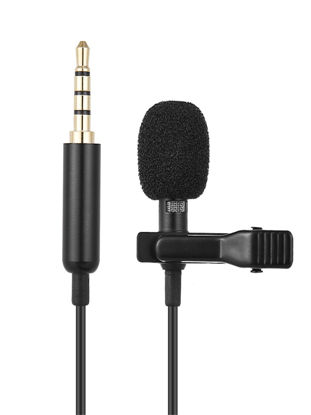 Picture of Andoer EY-510A Mini Portable Clip-On Lapel Lavalier Condenser Mic Wired Microphone
