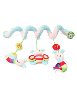 Picture of Baby's Rattle Cute Cartoon Shaped Multi-Functional Comfy Intelligent Toy - One Size