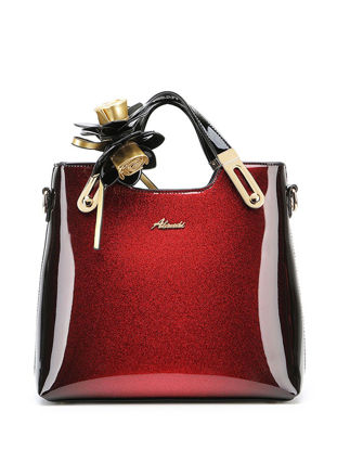 Picture of Women's Handbag Sweet Ladylike Elegant Interior Slot Pocket Bag - One Size