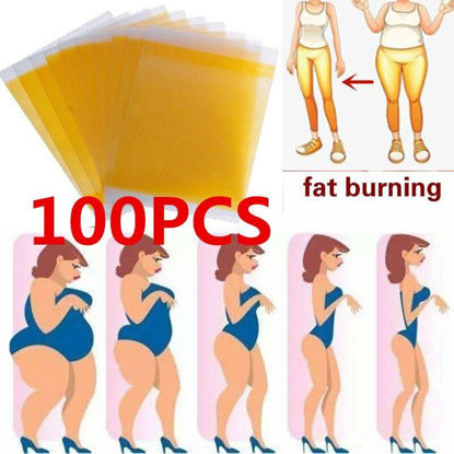 Picture of 100 Pcs Fat Burning Paste Slimming Body Shaping Stickers