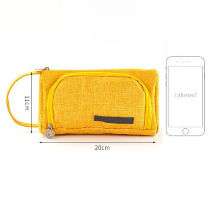 Picture of 1Pc Bag Creative Candy Color Simple Large Capacity Pen Bag - One Size