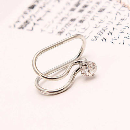 Picture of Women's One Piece Ear Clip Creative Personalized Vogue Earring Accessory - One Size