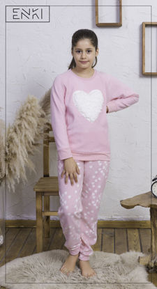 Picture of ENKI GIRLS POLAR ROSEBLOOM PAJAMA SET