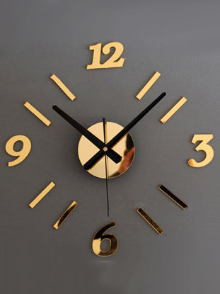 Picture of Wall Clock Modern Design Brief Style Numbers Acrylic Clock