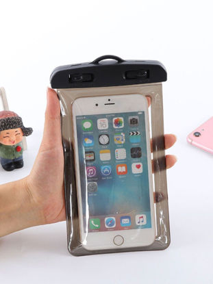 Picture of Phone Waterproof Bag Universal All Match Transparent Water Resistant Bag - One Size