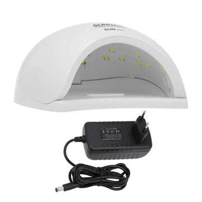 Picture of 50W UV Light LED Nail Dryer Curing Lamp for Fingernail & Toenail Gels Based Polishes with Sensor 30S 60S 99S Timer