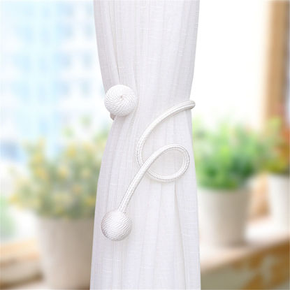 Picture of 1Pc Curtain Hanging Belt Buckle Tieback Strap Curtain Accessory - One Size
