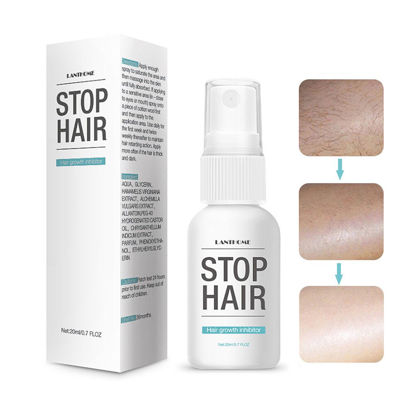 Picture of Hair Removal Repair Nourish Essence Liquid Effective Herbal Hair Growth Inhibitor Spray