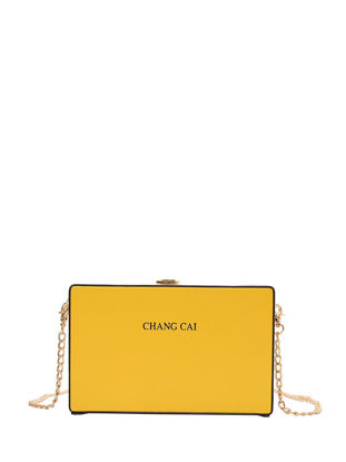 Picture of Women's Crossbody Bag Chic Alloy Chain High Quality Casual Crossbody Bag - One Size