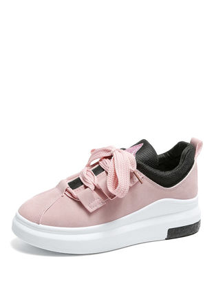 Picture of Women's Fashion Sneakers Thick Sole Casual Comfy Soft Shoes - 39