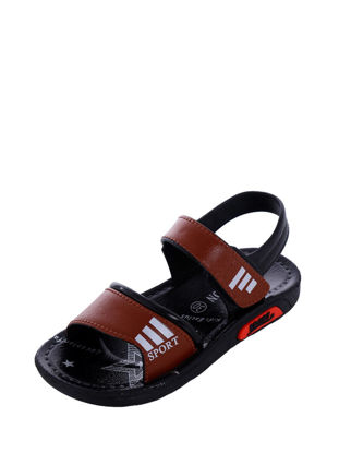 Picture of Kid's Sandals Flat-Soled Anti-Slip Summer Outdoor Beach Open Toe Sandals - 29