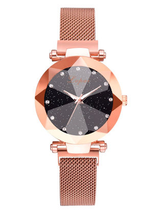 Picture of Women's Fashion Watch Classical Simple Stylish All Match Watch - One Size