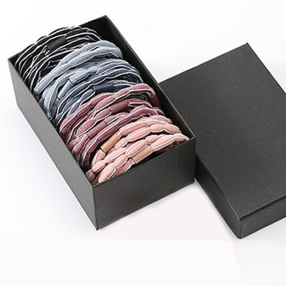 Picture of 30 Pcs Women's Hair Elastic Set Simple Design Durable Hair Accessories - One Size