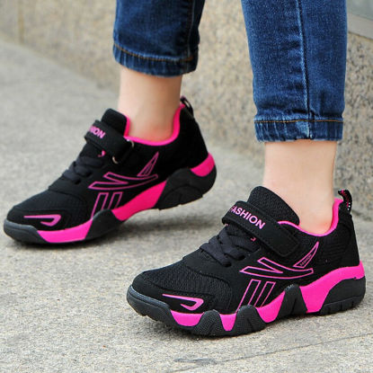 Picture of Girl's Sneakers Anti-Skidding Casual Breathable Shoes - 35