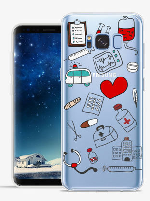 Picture of Samsung S7 Edge/S7/S8/S8 Plus/J5/J5 2016/J5 2017 Phone Case Medical Equipment Pattern Soft Cover - Size: Samsung S8 Plus