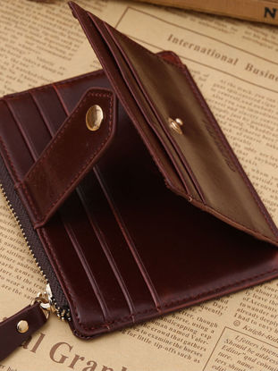 Picture of Men's Fashion Wallet Versatile All Match Zipper Design High Quality Wallet - Size: Free