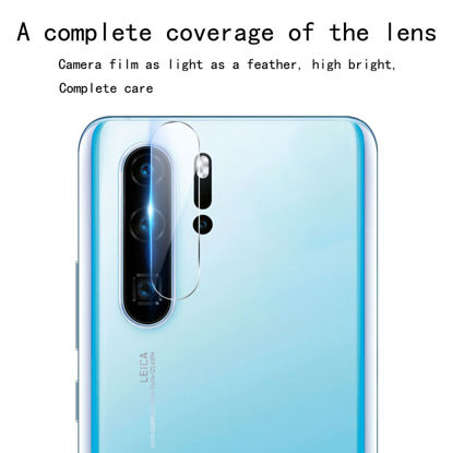 Picture of Huawei P30/P30 Pro/P20/P20 Pro Camera Tempered Glass Film Transparent HD Screen Protector - Size: Huawei P30 Pro