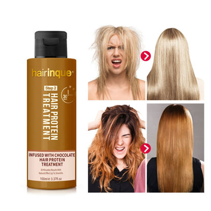 Picture of 100ml Hair Proten Treatment Improve Frizzy Hair Conditioner Straighten Hair Repair